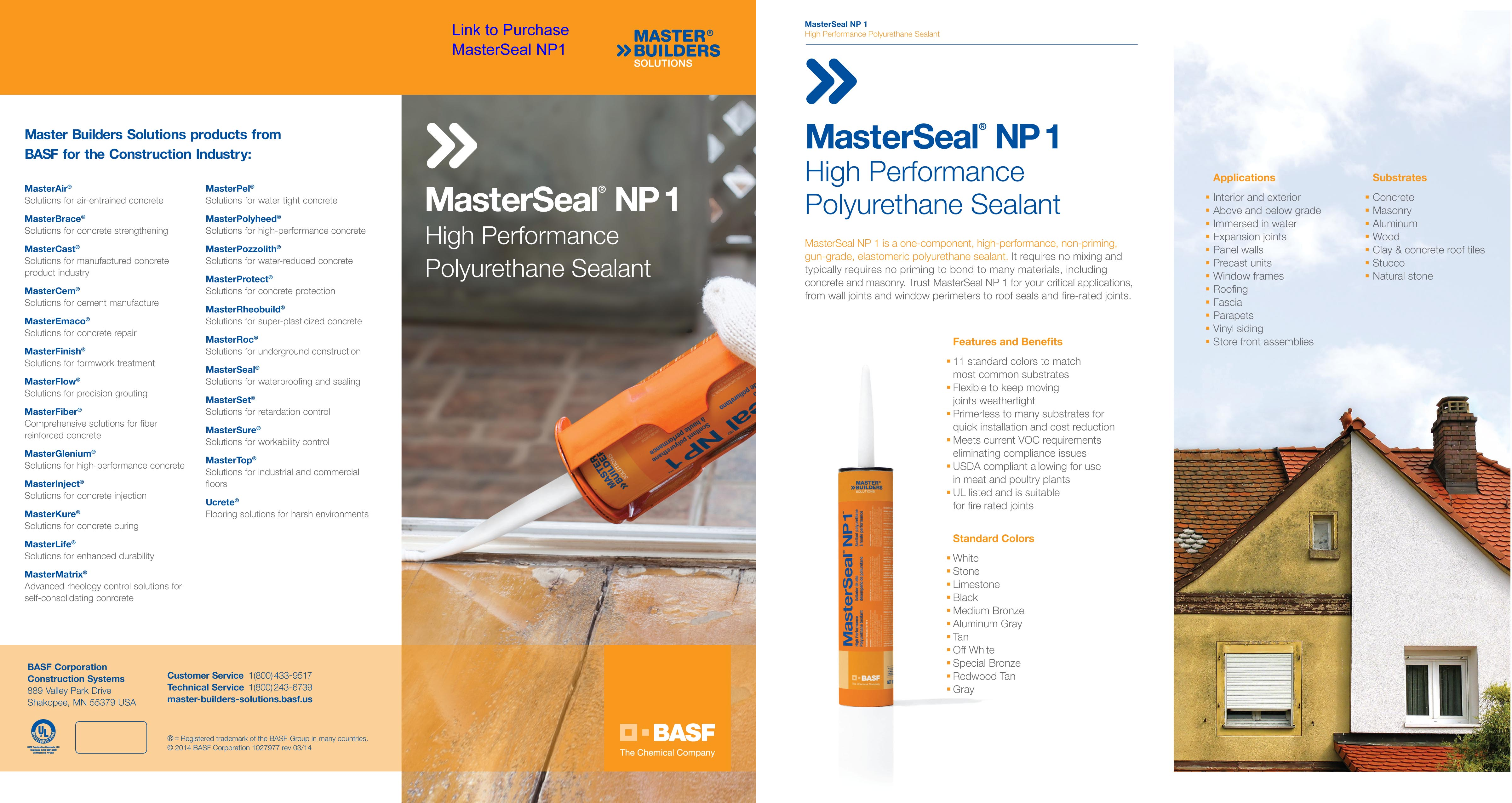 Masterseal Np1